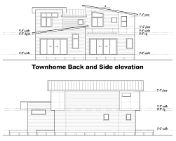 Floor Plan With Elevation by Clearwater Site And House Plans Clearwater Commons
