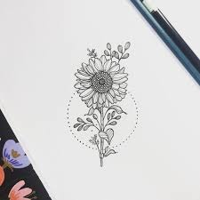 image result for sunflower tattoo tattoos pinterest tattoo