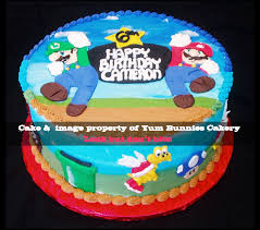 Super Mario Decorations Super Mario Brothers Cake Decorations A Birthday Party For Kids