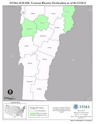 State Of Vermont Map by Vermont Severe Storms And Flooding Dr 4120 Fema Gov
