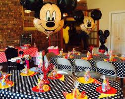 mickey mouse balloon arrangements mickey balloons etsy