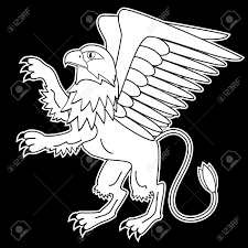 griffin mythological creatures royalty free cliparts vectors
