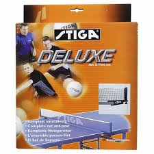 stiga deluxe table tennis table cover deluxe table tennis table net post set