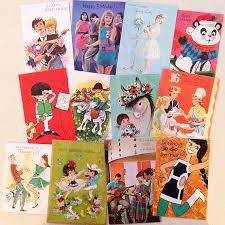 7 best 1960s greetings cards images on vintage
