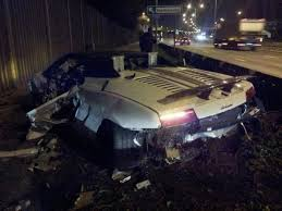 crashed lamborghini 30 of the worst supercar crashes ever blazepress