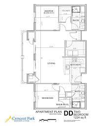 D D Floor Plans Senior Living Floor Plans Crescent Park Senior Living
