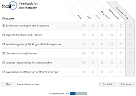 sample 360 degree feedback surveys