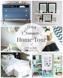 Home Decor Blogs 2014 2014 Summer Home Tour Just A And Her Blog