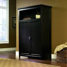 espresso computer armoire space saving computer armoire with concealed work desk getdatgadget