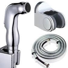 e support bathroom bath abs water saving bidet diaper shower hand