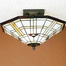 mission tiffany ceiling light tiffany style ceiling lights stained glass fixtures for sale all