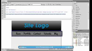 website layout using div and css dreamweaver tutorial how to create a basic 2 column website layout