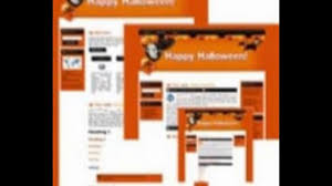 halloween background template 1280x720 wordpress themes halloween site template 3 u2013 get the best