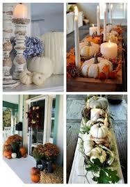 pumpkins arrangements for fall home decor comfydwelling com