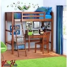 Futon Bunk Bed Woodworking Plans by Desk Loft Bed With Desk And Storage Stairs Futon Bunk Bed With