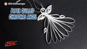 how to make christmas decoration diy paper quilled christmas