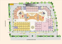 Shopping Centre Floor Plan by Pin Mall Floor Plans