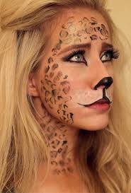 halloween leopard makeup tutorial 45 best makeup images on pinterest make up fantasy makeup and