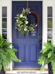 my new blue front door on rafael home biz for colored front doors