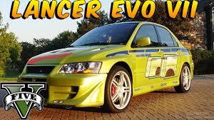 gta 5 2 fast 2 furious car buld mitsubishi lancer evo viii