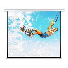 motorized home theater screen pyle prjelmt86 home and office projector screens accessories