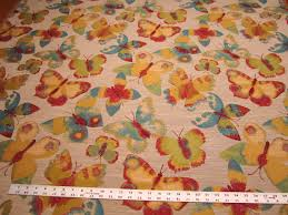 get your net butterfly tapestry upholstery fabric color jellybean
