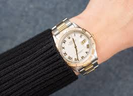 rolex print ads two tone datejust thunderbird 16263 oyster