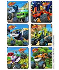 blaze u0026 monster machines cool trucks stickers kids love