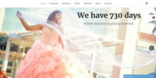 free wedding website 12 free wedding website themes templates free premium templates