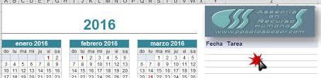 calendario imss 2016 das festivos calendario laboral y seguridad social 2016 en excel ppsotoasesor com