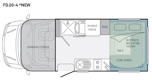type b motorhome floor plans 100 rialta floor plan winnebago ram promaster based rv