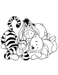 winnie the pooh coloring pages bing images coloring disney