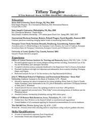 Army Resume Example by Sample College Student Resume Template Easy Resume Samples
