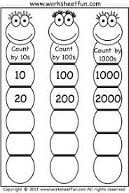 use these worksheets to practice skip counting by 2 u0027s 5 u0027s 10 u0027s