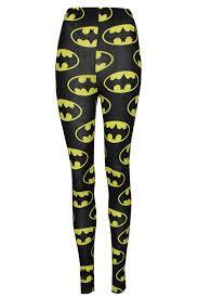 thever women ladies girls batman superhero legging trouser tights