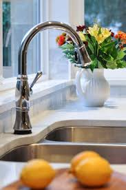 delta touch20 kitchen faucet the kitchen project sink bling with the delta touch 20 faucet