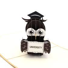 graduation owl graduation owl pop up card liif