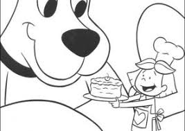 clifford coloring pages clifford the big red dog coloring pages coloring4free com