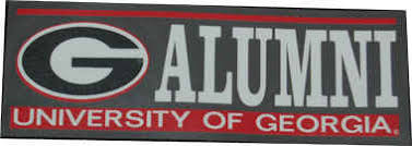 uga alumni decal sticker