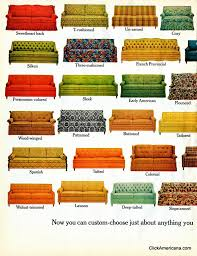 sofa styles hide a bed sofa styles 1965 click americana