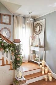 Holiday Decorations For The Home Best 20 Stair Landing Decor Ideas On Pinterest Landing Decor