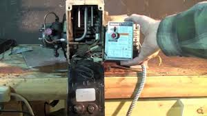 how to wire the oil furnace cad cell relay youtube