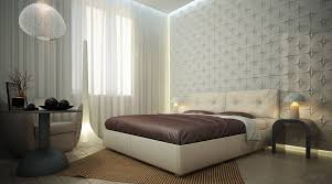Bedroom Creative Interior Design For Bedroom Using Parquet - Creative bedroom wall designs