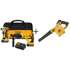 home depot 20 v impact driver black friday dewalt power tool combo kits power tools the home depot