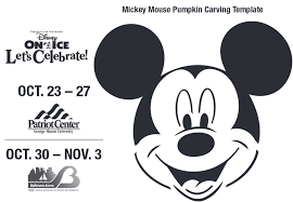 19 mickey mouse pumpkin stencils free printable pin by luv