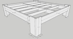Farmhouse Bed Plans Bed Frames Bed Design Plans Free Bed Designs Wood Plans King