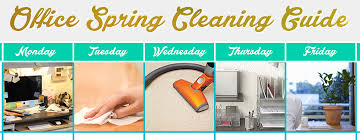 Spring Cleaning Tips Office Spring Cleaning Guide
