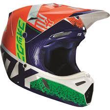 camo motocross helmet fox racing 2016 v3 divizion helmet orange blue available at