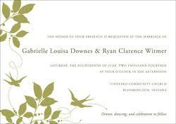 wedding invitation templates word wedding invitation templates paper source