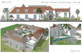 House Plan Fresh Tropical House Plans with Courtyards Tropical